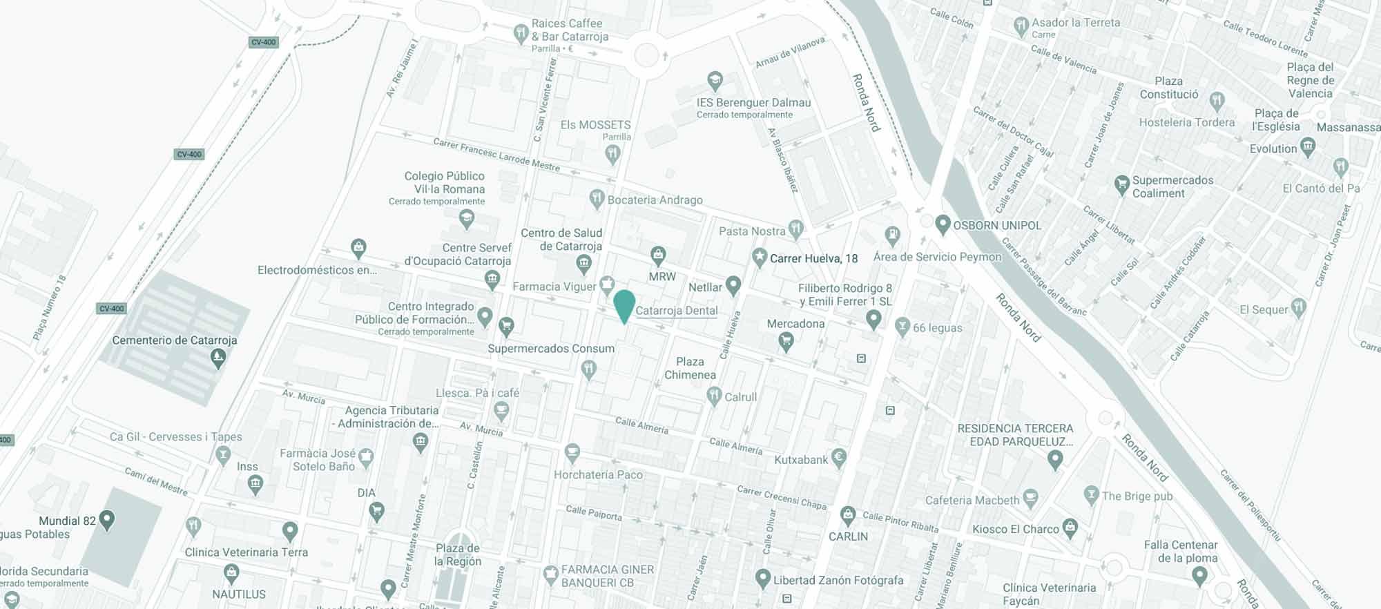Como llegar a Catarroja Dental - Google Maps